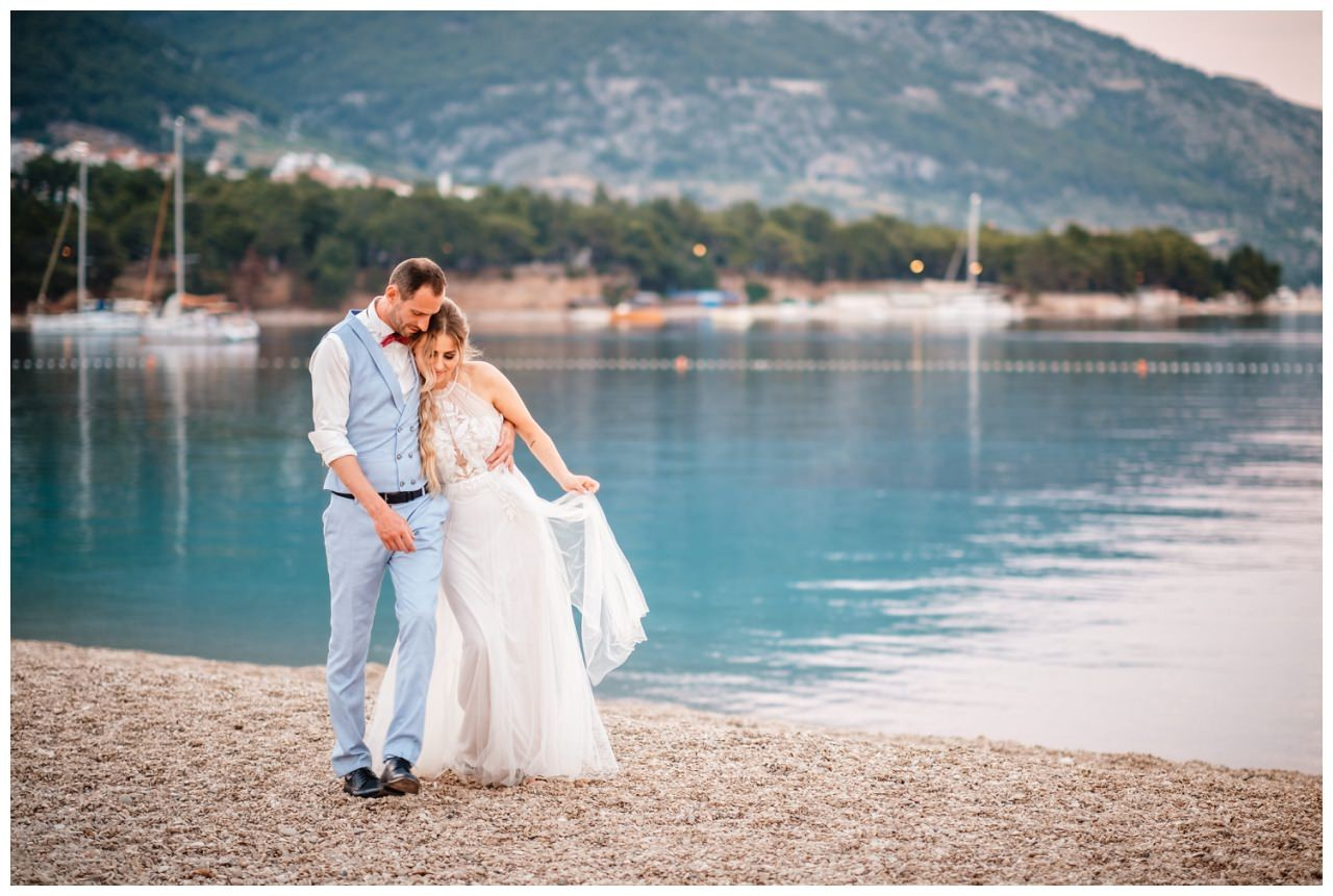 hochzeit kroatien ausland gardasee fotograf strand 104 - Hochzeit am Strand in Kroatien