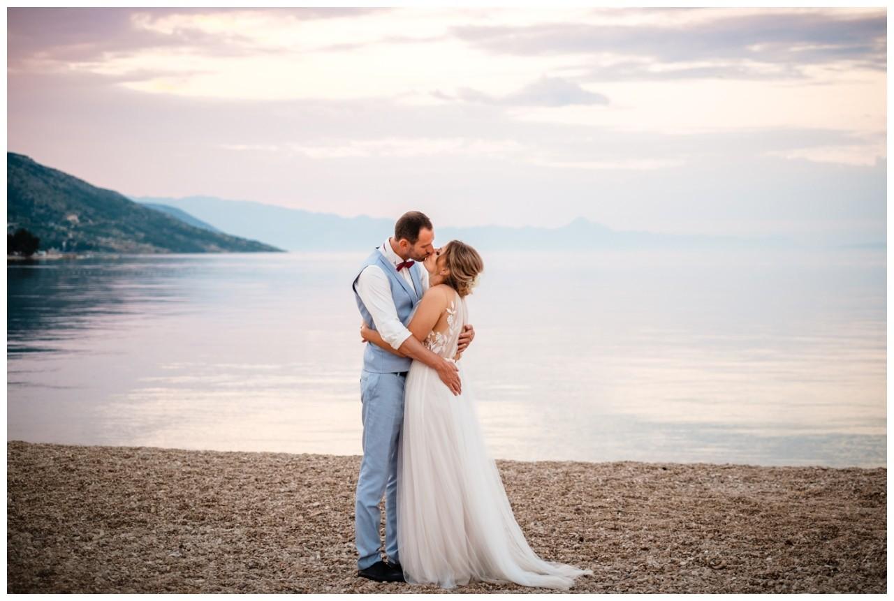 hochzeit kroatien ausland gardasee fotograf strand 106 - Hochzeit am Strand in Kroatien