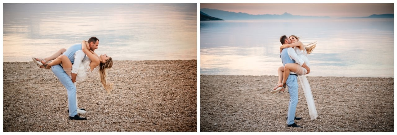 hochzeit kroatien ausland gardasee fotograf strand 108 - Hochzeit am Strand in Kroatien
