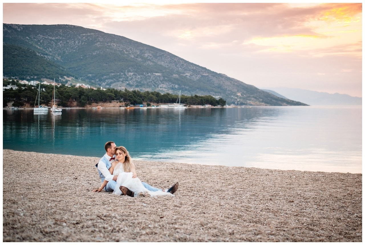 hochzeit kroatien ausland gardasee fotograf strand 109 - Hochzeit am Strand in Kroatien