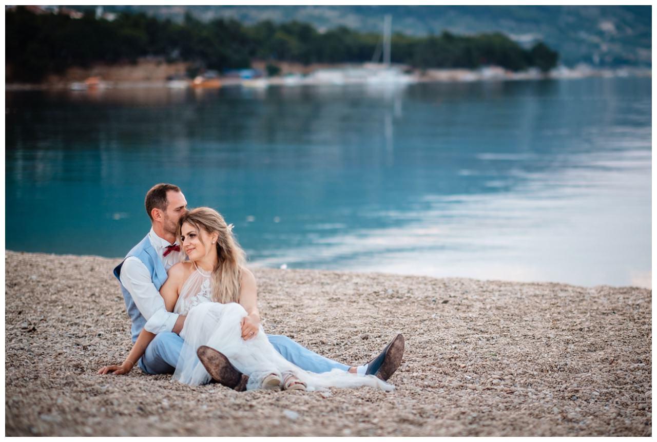 hochzeit kroatien ausland gardasee fotograf strand 110 - Hochzeit am Strand in Kroatien
