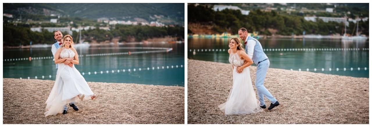 hochzeit kroatien ausland gardasee fotograf strand 112 - Hochzeit am Strand in Kroatien