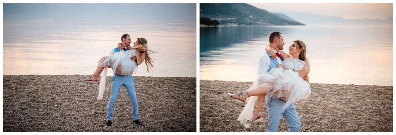 hochzeit kroatien ausland gardasee fotograf strand 113 - Hochzeit am Strand in Kroatien