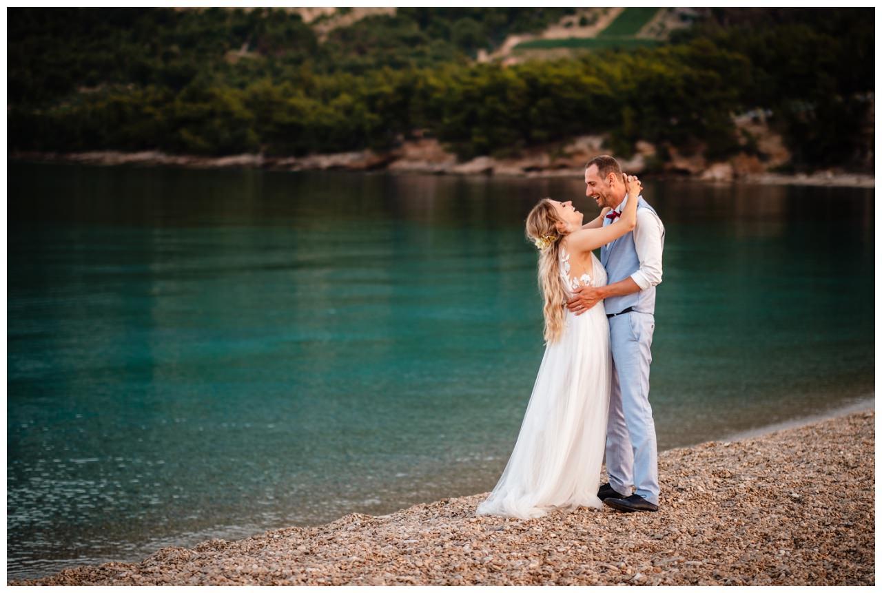 hochzeit kroatien ausland gardasee fotograf strand 114 - Hochzeit am Strand in Kroatien