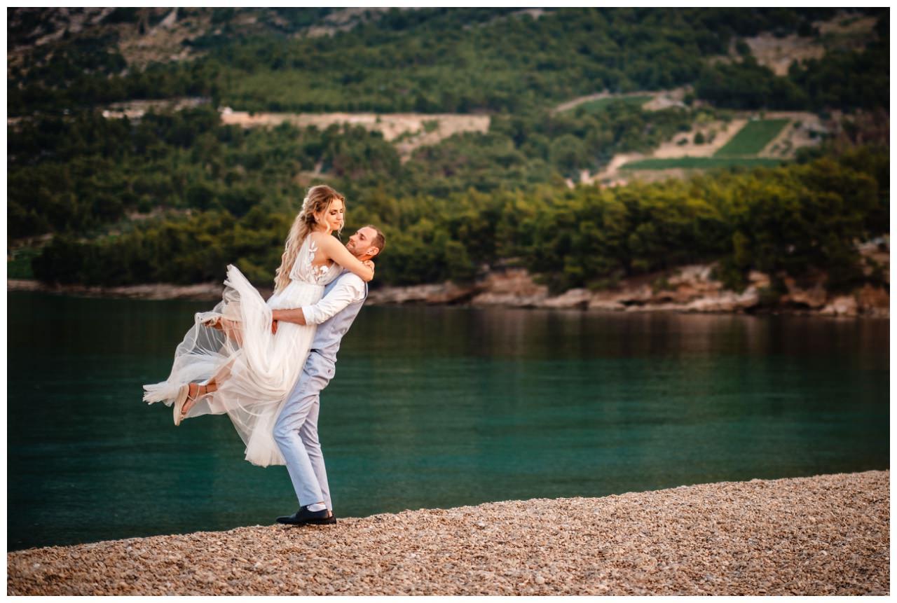 hochzeit kroatien ausland gardasee fotograf strand 115 - Hochzeit am Strand in Kroatien