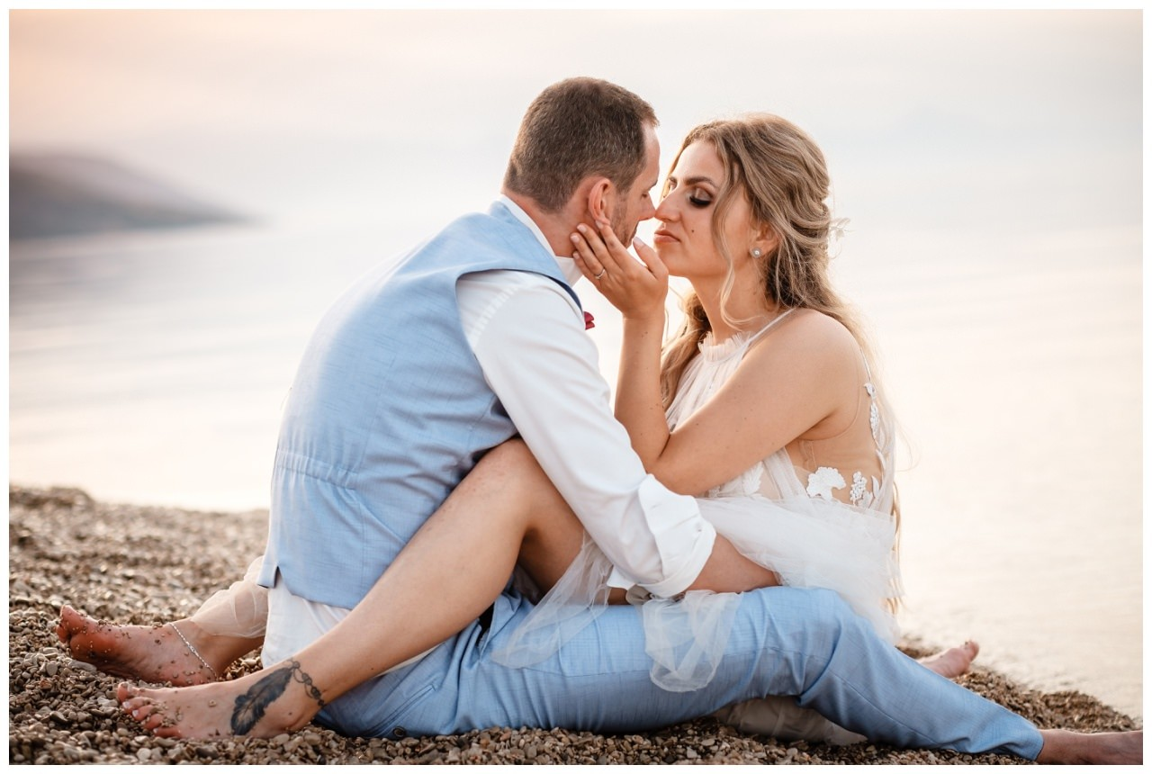 hochzeit kroatien ausland gardasee fotograf strand 118 - Hochzeit am Strand in Kroatien