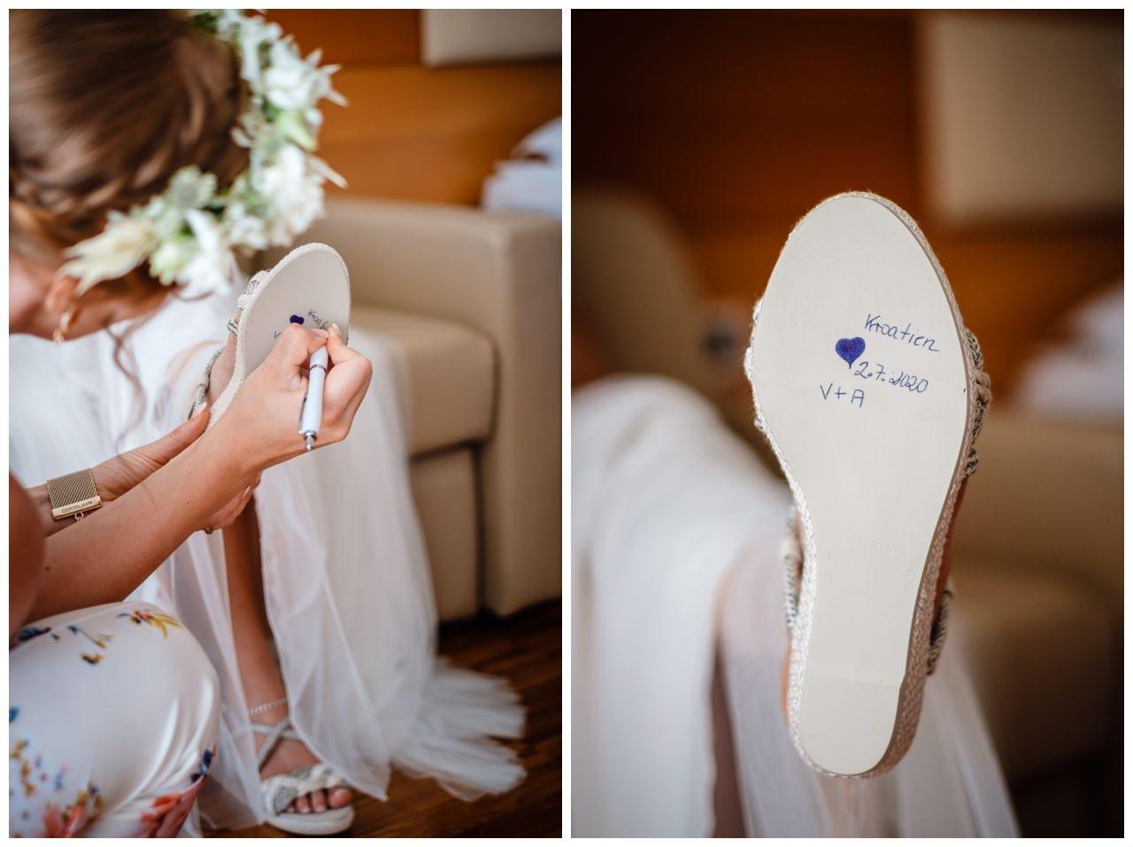 hochzeit kroatien ausland gardasee fotograf strand 25 - Hochzeit am Strand in Kroatien