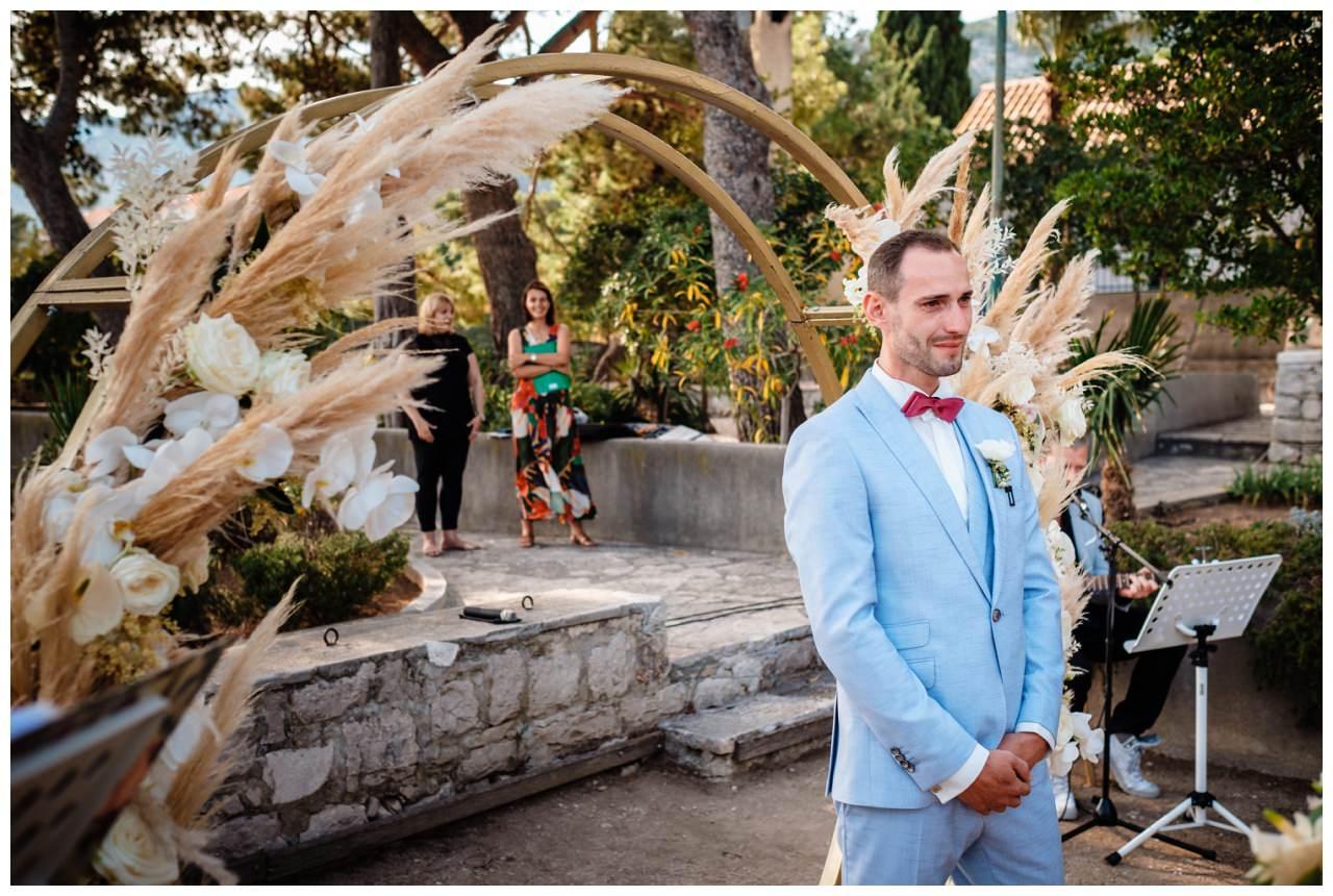 hochzeit kroatien ausland gardasee fotograf strand 52 - Hochzeit am Strand in Kroatien