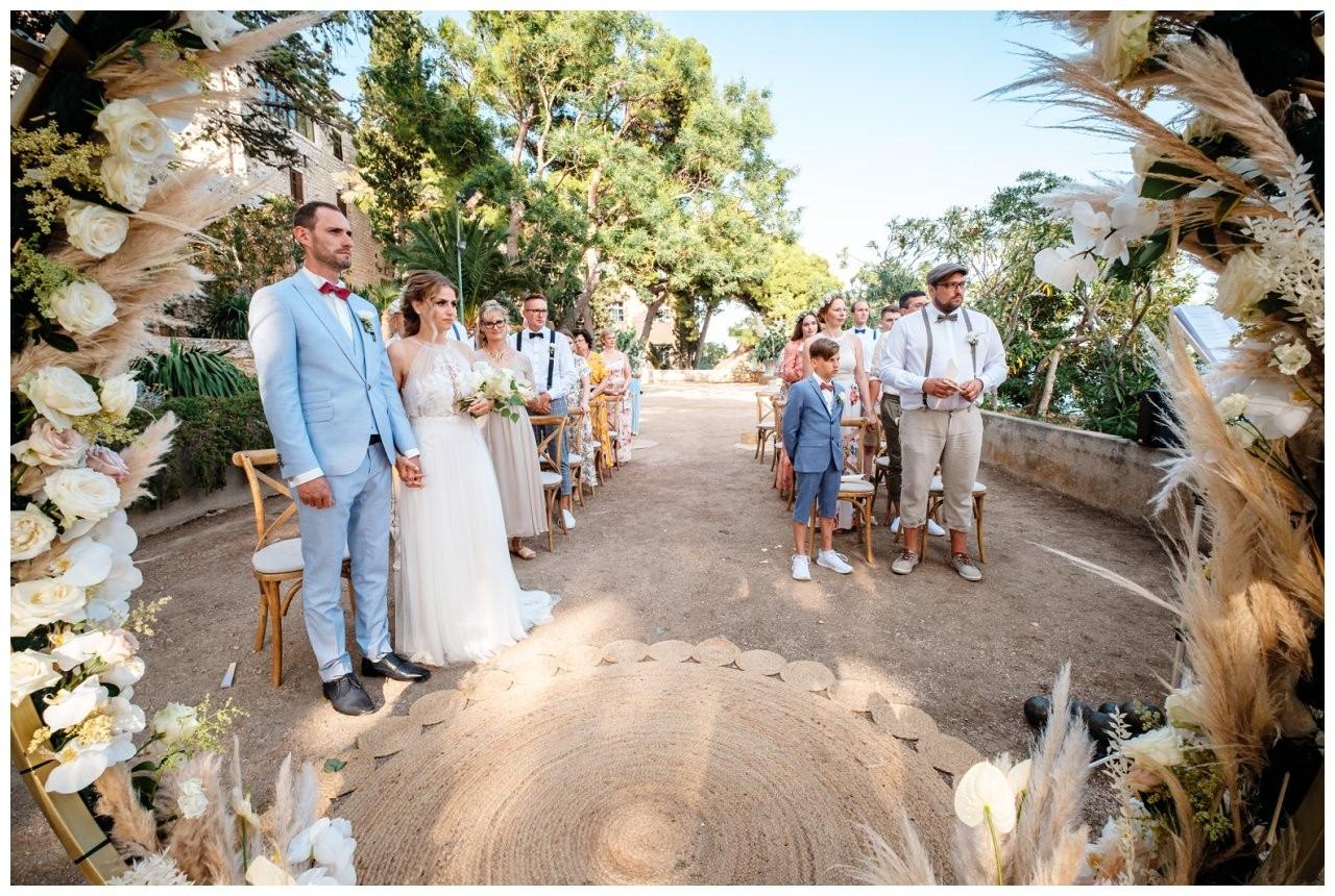 hochzeit kroatien ausland gardasee fotograf strand 62 - Hochzeit am Strand in Kroatien