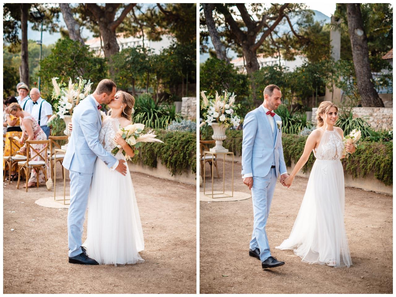 hochzeit kroatien ausland gardasee fotograf strand 66 - Hochzeit am Strand in Kroatien