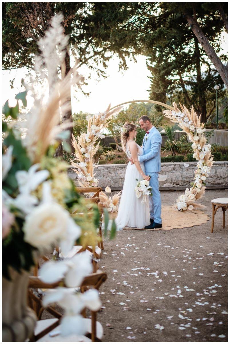 hochzeit kroatien ausland gardasee fotograf strand 69 - Hochzeit am Strand in Kroatien