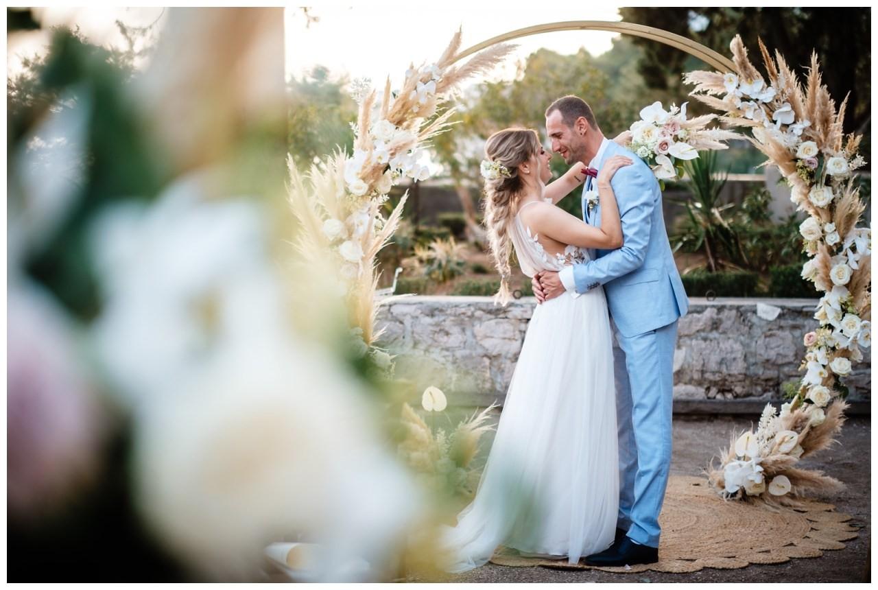 hochzeit kroatien ausland gardasee fotograf strand 70 - Hochzeit am Strand in Kroatien