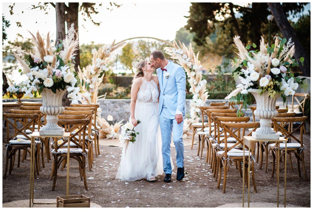 hochzeit kroatien ausland gardasee fotograf strand 71 - Hochzeit am Strand in Kroatien