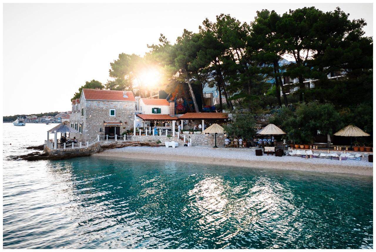 hochzeit kroatien ausland gardasee fotograf strand 81 - Hochzeit am Strand in Kroatien