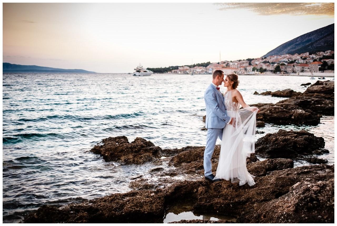 hochzeit kroatien ausland gardasee fotograf strand 90 - Hochzeit am Strand in Kroatien