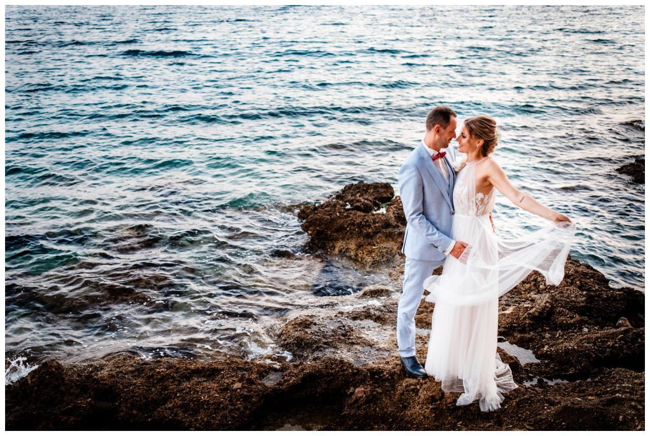 hochzeit kroatien ausland gardasee fotograf strand 91 - Hochzeit am Strand in Kroatien