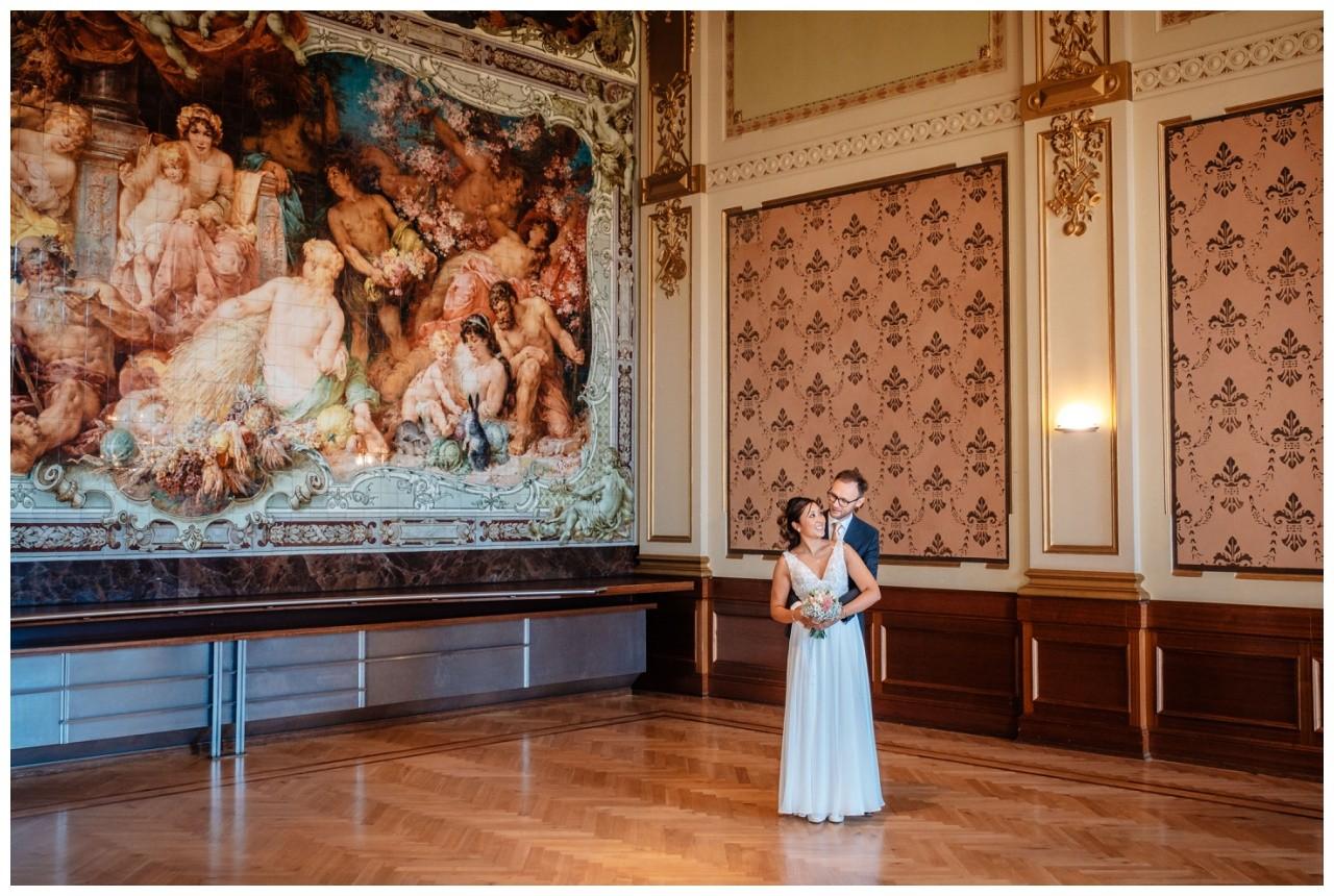 standesamtliche Trauung Stadthalle Wuppertal Hochzeit Fotograf 16 - Standesamtliche Trauung in der historische Stadthalle Wuppertal