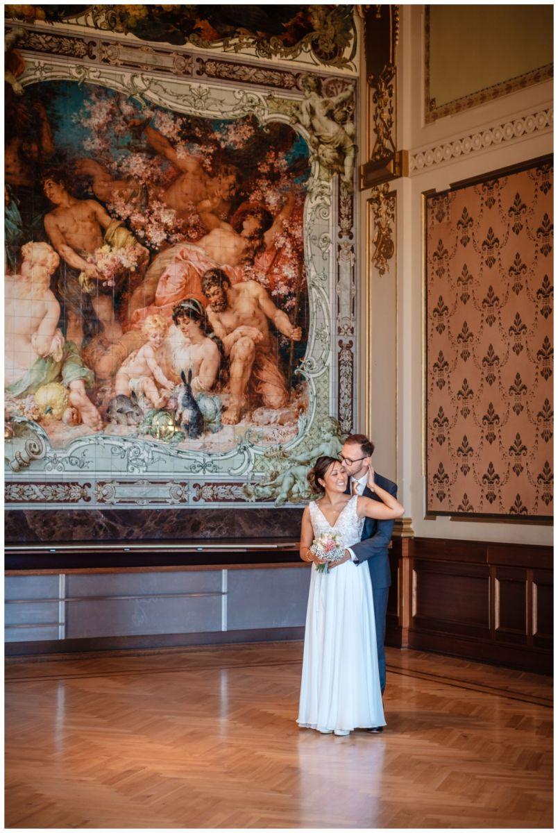 standesamtliche Trauung Stadthalle Wuppertal Hochzeit Fotograf 17 - Standesamtliche Trauung in der historische Stadthalle Wuppertal