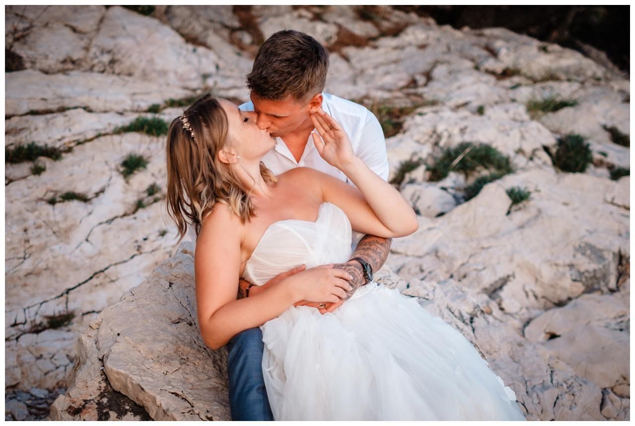 Hochzeitsfotos Strand after wedding Shooting hochzeit kroatien ausland fotograf 14 - After Wedding Shooting in Split