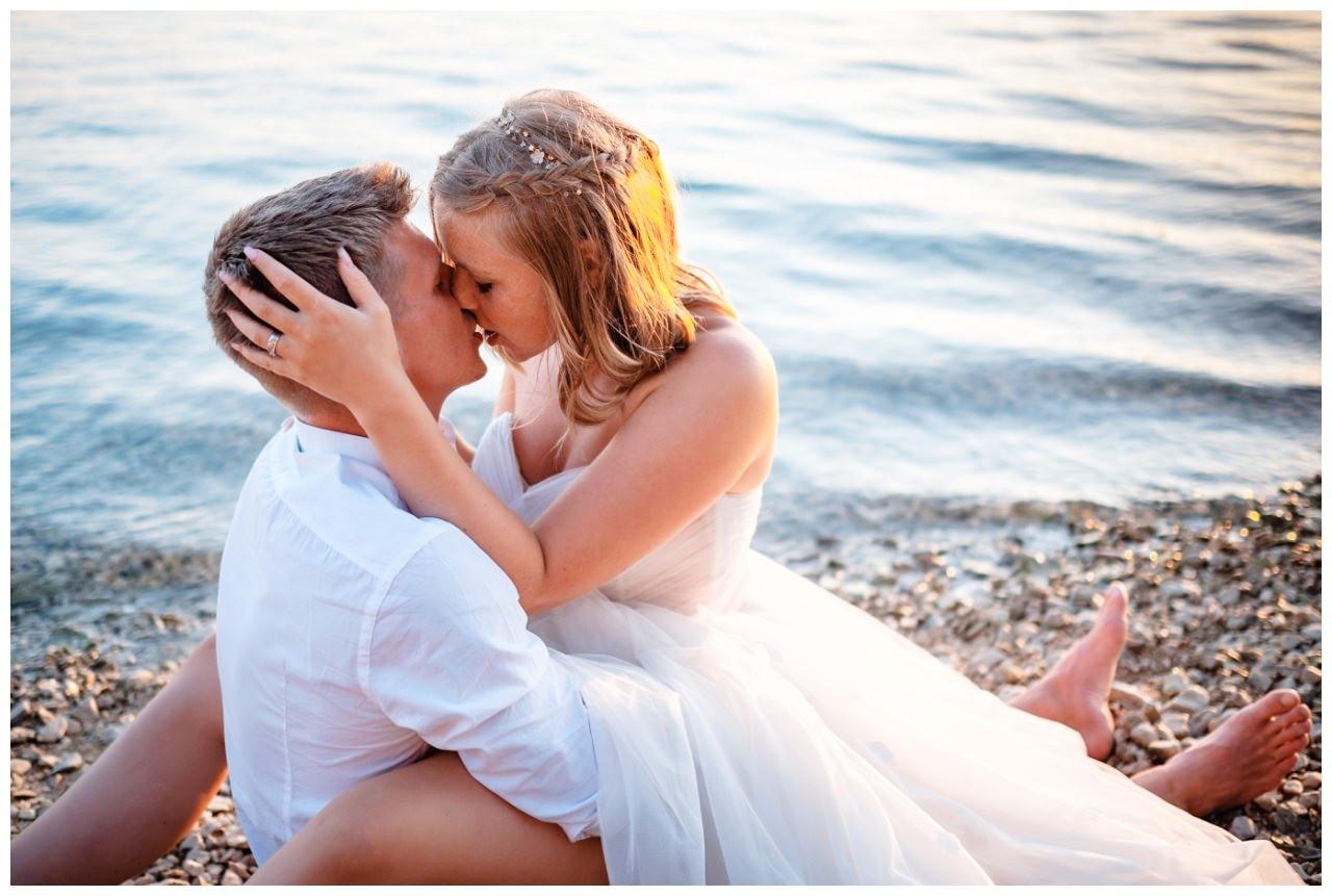Hochzeitsfotos Strand after wedding Shooting hochzeit kroatien ausland fotograf 23 - After Wedding Shooting in Split