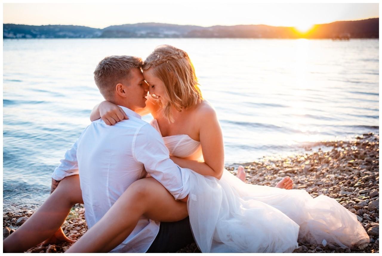 Hochzeitsfotos Strand after wedding Shooting hochzeit kroatien ausland fotograf 24 - After Wedding Shooting in Split