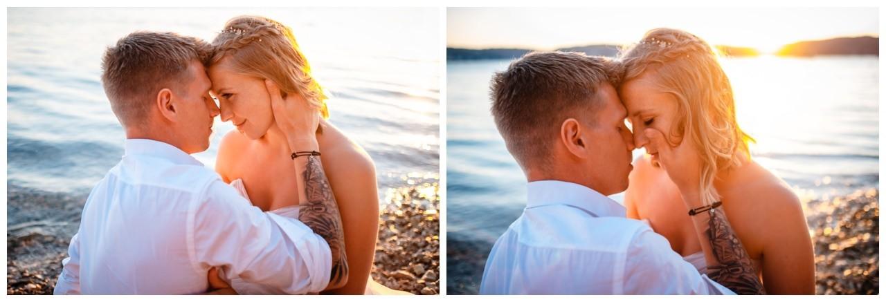 Hochzeitsfotos Strand after wedding Shooting hochzeit kroatien ausland fotograf 27 - After Wedding Shooting in Split