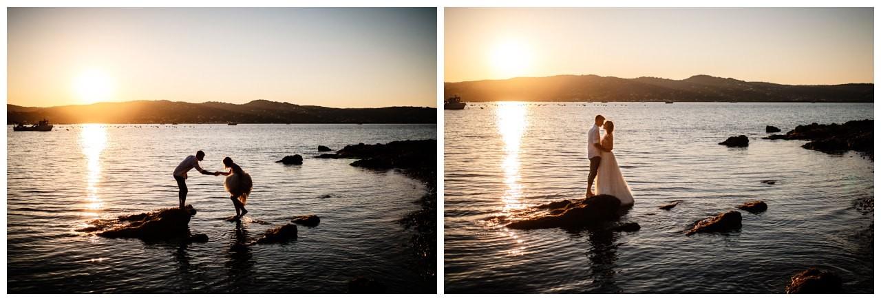 Hochzeitsfotos Strand after wedding Shooting hochzeit kroatien ausland fotograf 30 - After Wedding Shooting in Split