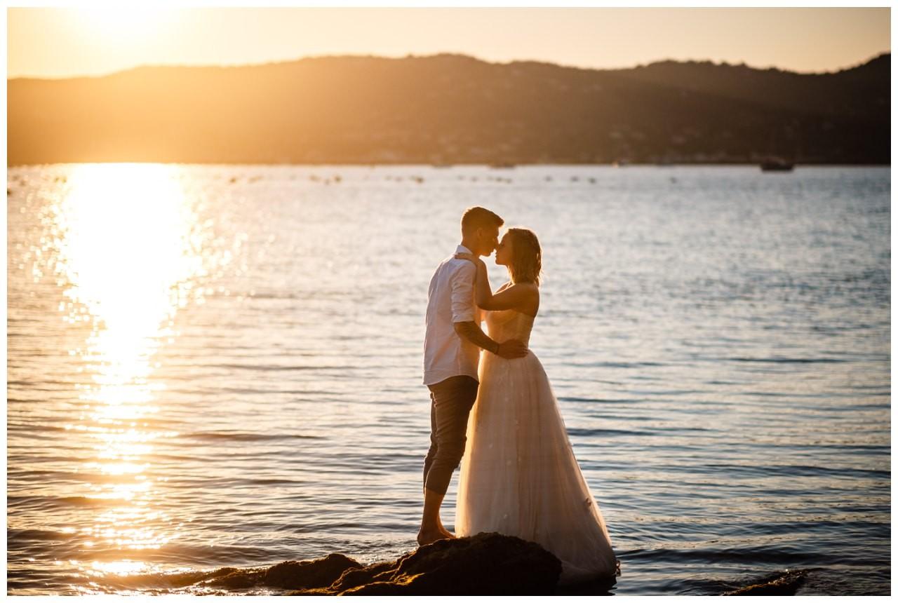Hochzeitsfotos Strand after wedding Shooting hochzeit kroatien ausland fotograf 31 - After Wedding Shooting in Split