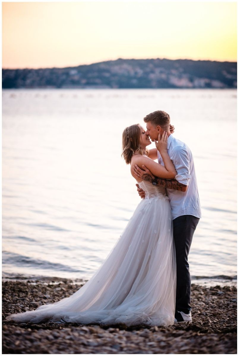 Hochzeitsfotos Strand after wedding Shooting hochzeit kroatien ausland fotograf 4 - After Wedding Shooting in Split