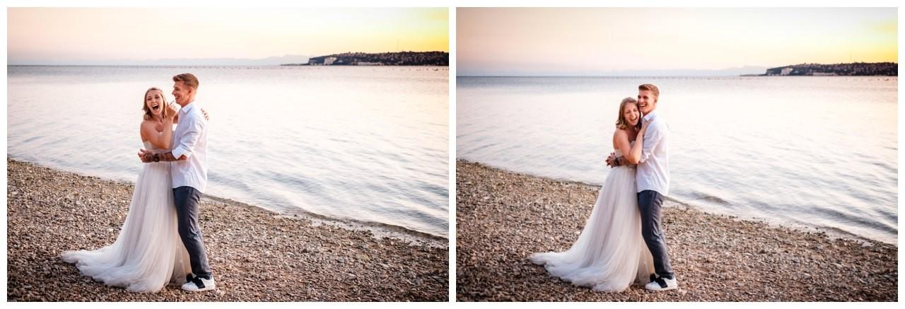 Hochzeitsfotos Strand after wedding Shooting hochzeit kroatien ausland fotograf 6 - After Wedding Shooting in Split
