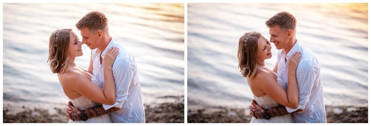 Hochzeitsfotos Strand after wedding Shooting hochzeit kroatien ausland fotograf 7 - After Wedding Shooting in Split