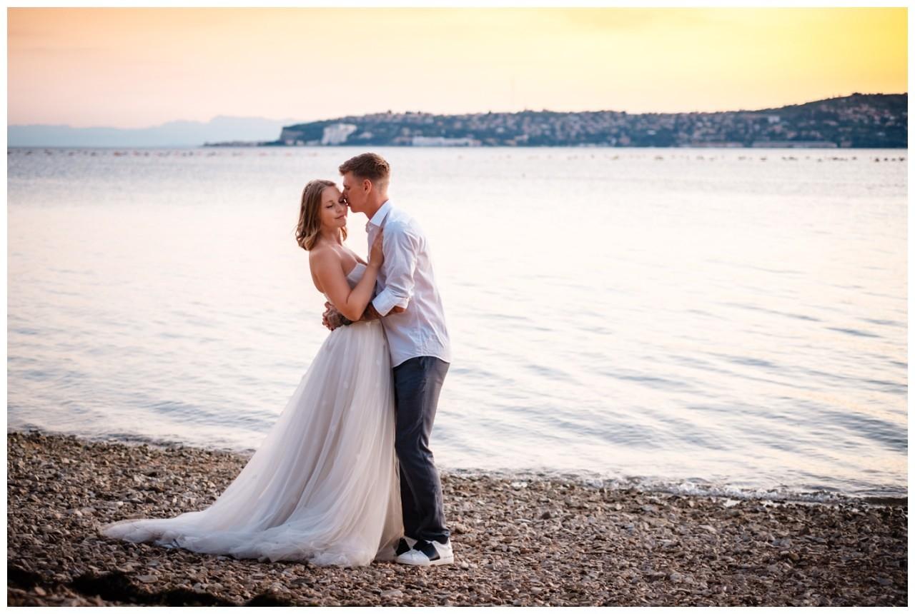 Hochzeitsfotos Strand after wedding Shooting hochzeit kroatien ausland fotograf 9 - After Wedding Shooting in Split