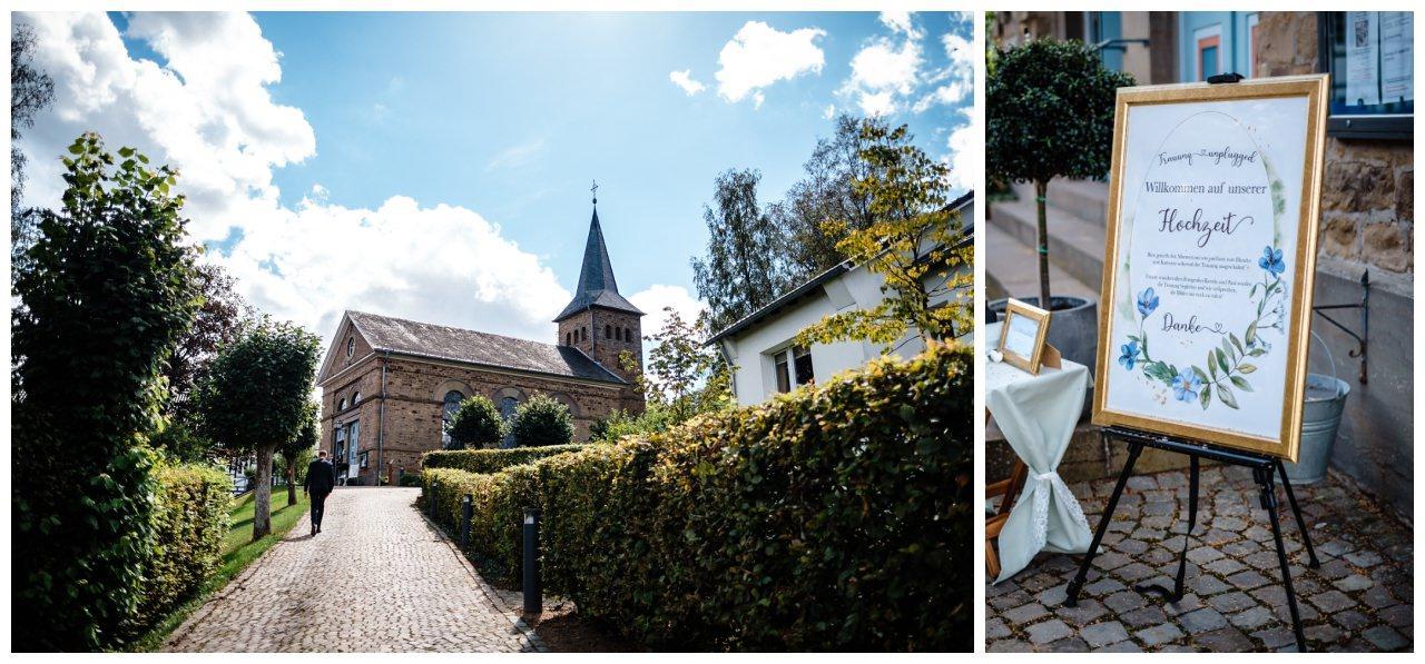 Hochzeit Delling Koeln Hochzeitsfotograf Kapelle 22 - Kirchliche Hochzeit in Kürten