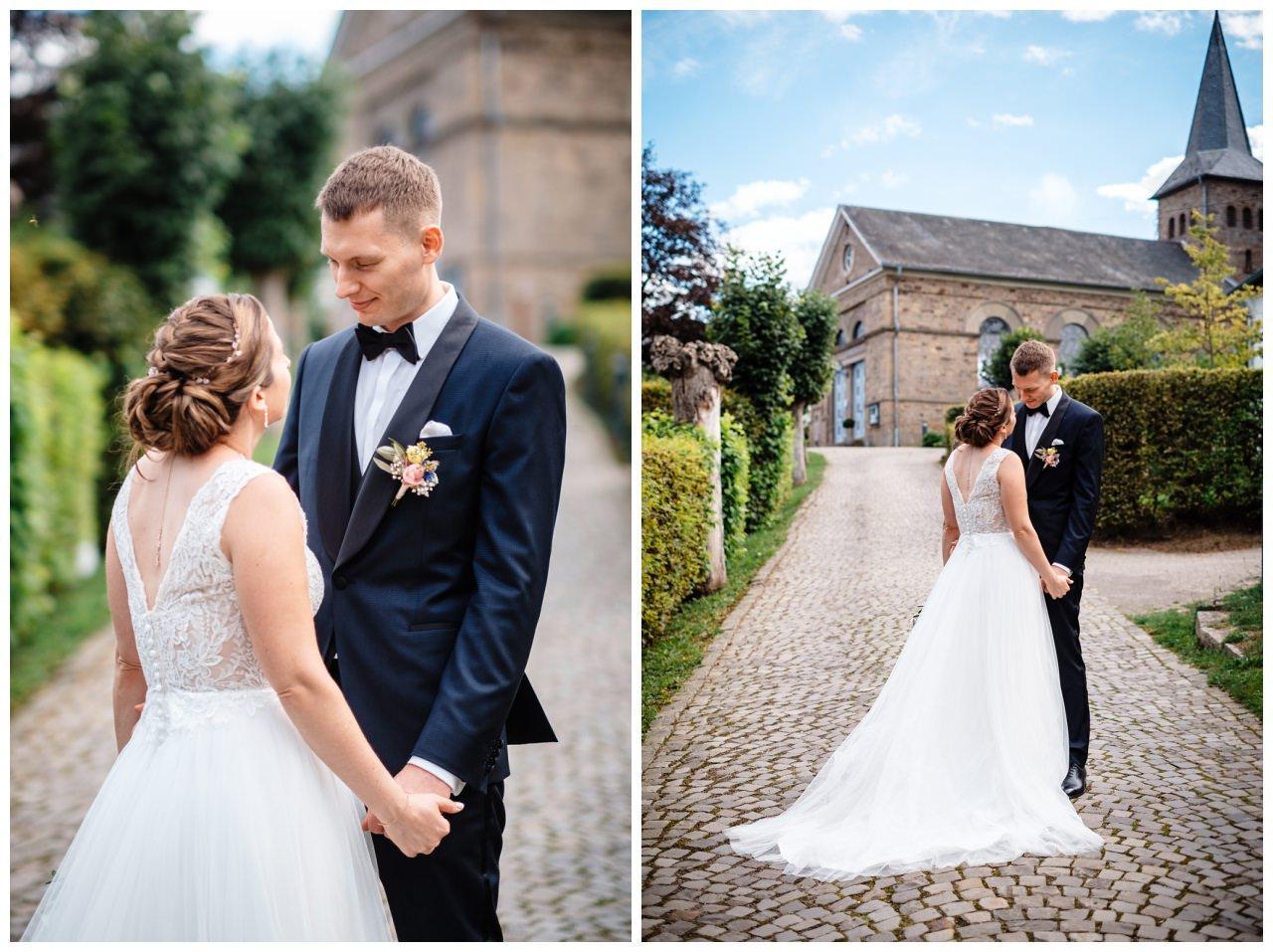 Hochzeit Delling Koeln Hochzeitsfotograf Kapelle 54 - Kirchliche Hochzeit in Kürten