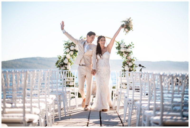 Hochzeit in Kroatien Split Freie Trauung am Meer im Ausland