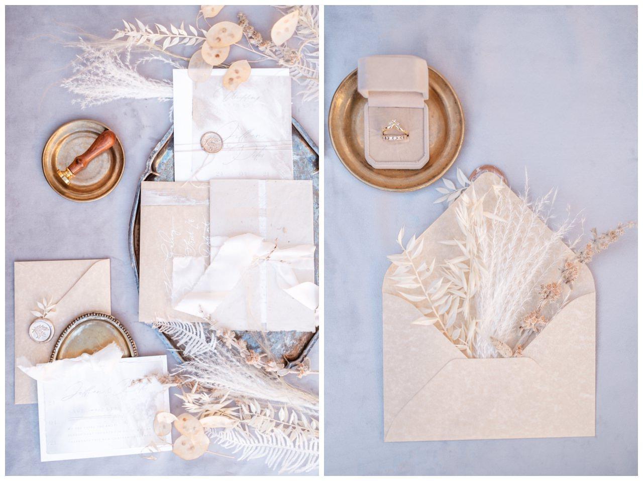 Hochzeitspapeterie Einladungskarte Einladung Hochzeit Flatlay Fotograf 13 - Eure Einladung als Flatlay inszeniert