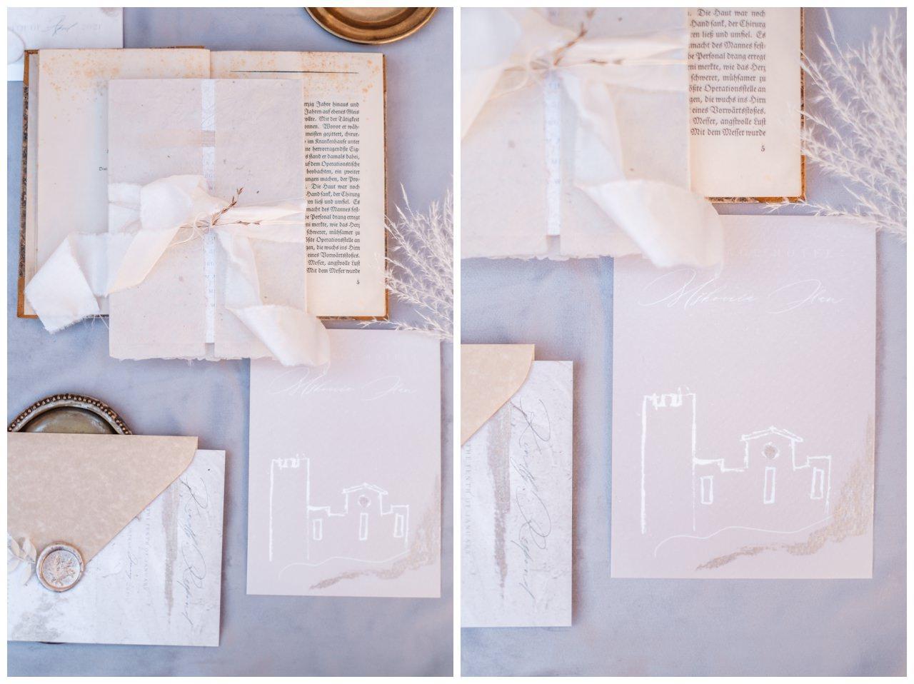 Hochzeitspapeterie Einladungskarte Einladung Hochzeit Flatlay Fotograf 17 - Eure Einladung als Flatlay inszeniert