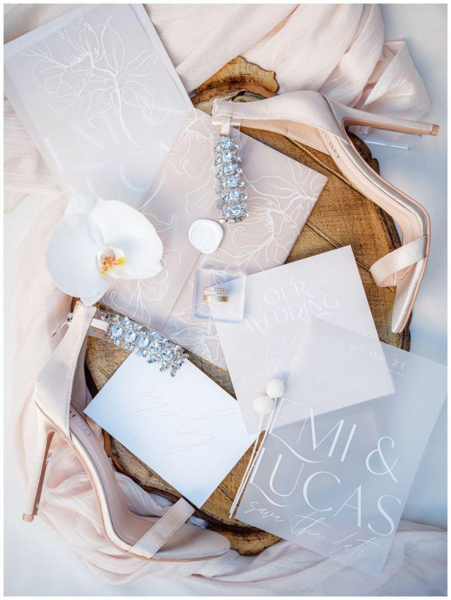 Hochzeitspapeterie Einladungskarte Einladung Hochzeit Flatlay Fotograf 2 - Eure Einladung als Flatlay inszeniert