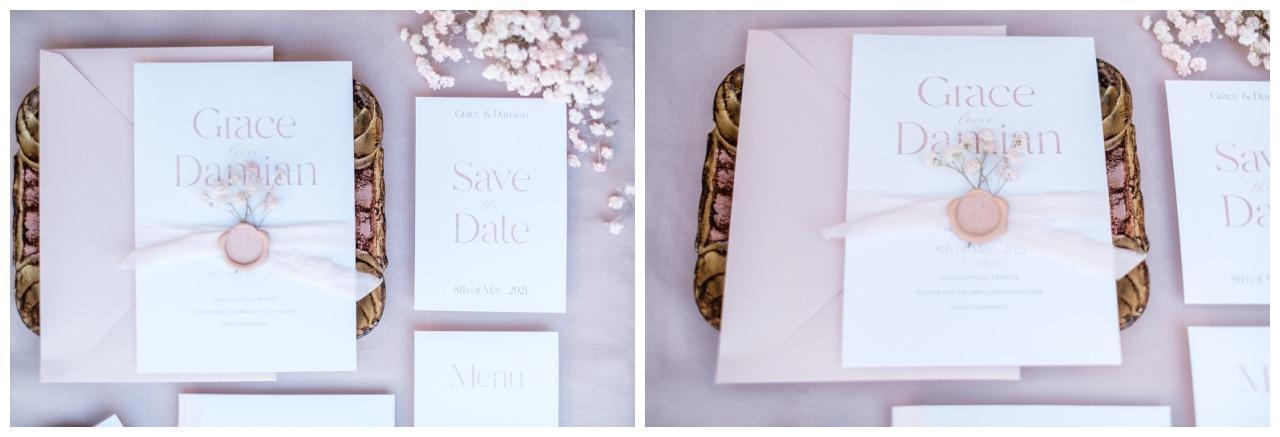 Hochzeitspapeterie Einladungskarte Einladung Hochzeit Flatlay Fotograf 25 - Eure Einladung als Flatlay inszeniert