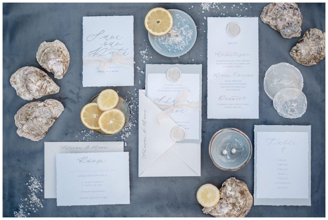 Hochzeitspapeterie Einladungskarte Einladung Hochzeit Flatlay Fotograf 8 - Eure Einladung als Flatlay inszeniert