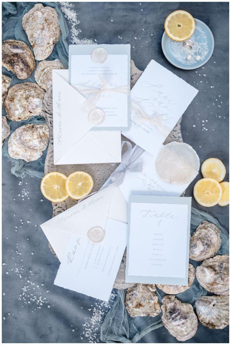Hochzeitspapeterie Einladungskarte Einladung Hochzeit Flatlay Fotograf 9 - Eure Einladung als Flatlay inszeniert